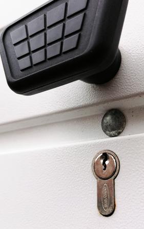 Garage locks replaced